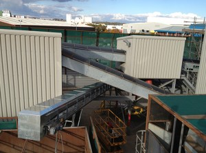Recycling Plant Conveyor