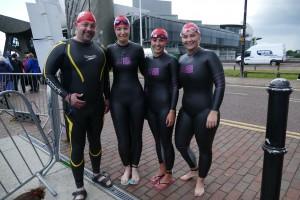 Team OEI before swim